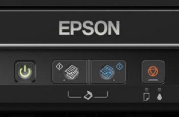 Epson L360 button