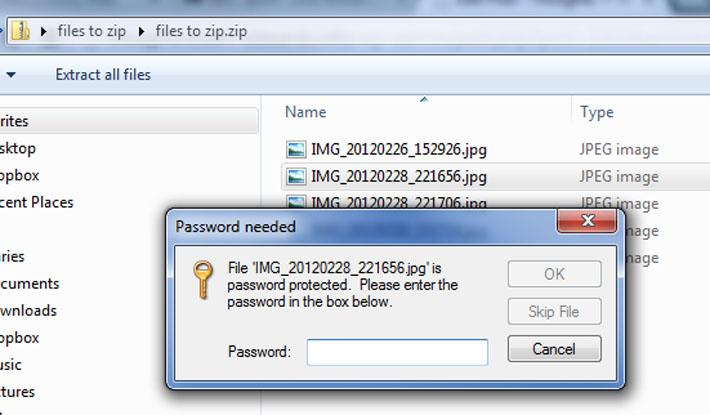 Begini Cara Mudah Membuat Password Pada Zip File | Murdockcruz
