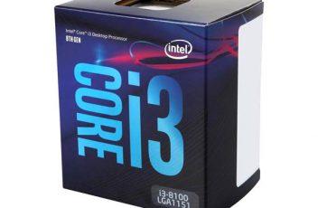 Core i3 8100 1