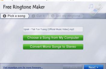 Free Ringtone Maker 1