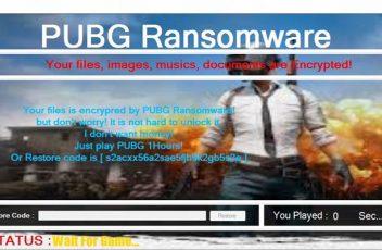 Pugb Ransomware